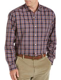 Cutter & Buck® Frederick Twill Plaid Sport Shirt