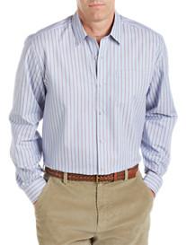 Cutter & Buck® Hector Stripe Twill Sport Shirt