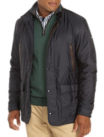 Paul & Shark® Leather-Trim Nylon Jacket