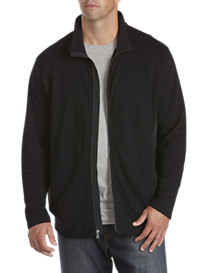 Twenty-Eight Degrees Nylon-Trim Piqué Jacket