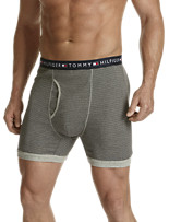 Tommy Hilfiger® 2-Pk Stripe Knit Boxer Briefs