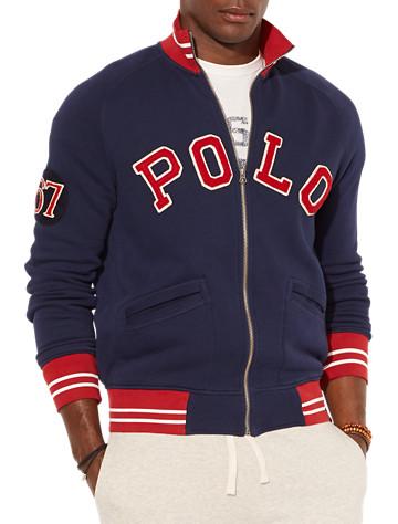 Polo Ralph Lauren® Zip-Front Fleece Track Jacket | Active Tops