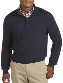 Brooks Brothers® Cotton/Cashmere Mockneck Sweater