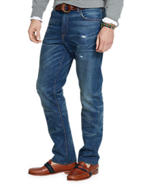 Polo Ralph Lauren® Hampton Straight-Fit Reeve Wash Denim Jeans