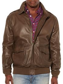 Polo Ralph Lauren® Farrington Leather Bomber Jacket