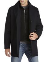 Kenneth Cole Erwin Wool-Blend Coat