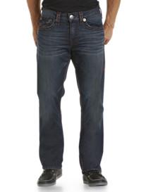 True Religion Brand® Ricky Super T Straight Jeans – Dark Wash