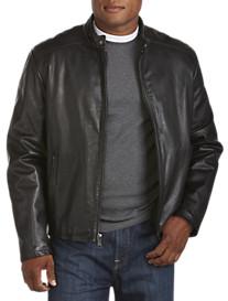 Marc New York Andrew Marc Sam Leather Moto Jacket