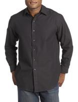 Twenty-Eight Degrees Tonal Textured Sport Shirt