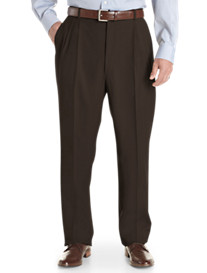 Ballin® Comfort-EZE Pleated Gabardine Dress Pants