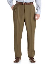 Ballin® Comfort-EZE Pleated Gabardine Dress Pants