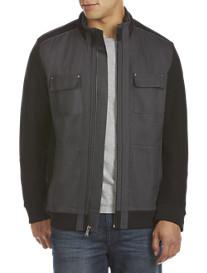 Calvin Klein® Sport Full-Zip Mixed Media Jacket