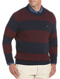 Tommy Hilfiger® Intrepid Stripe Crewneck Sweater