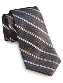 Rochester Textured Stripe Silk Tie