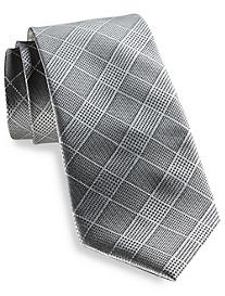 Rochester Grid Silk Tie