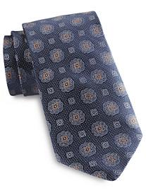 Rochester Small Medallion Silk Tie