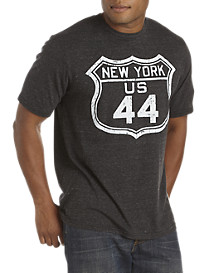 Retro Brand NY RT 44 Graphic Tee