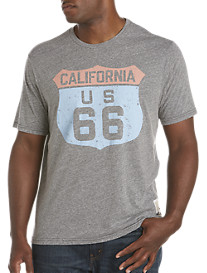 Retro Brand Cali RT 66 Graphic Tee