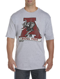 Retro Brand Collegiate Team Tri-Blend Graphic Tee