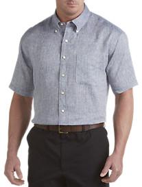 Brooks Brothers® Solid Irish Linen Sport Shirt