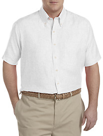 Brooks Brothers® Solid Irish Linen Sport Shirt