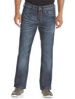 Buffalo David Bitton® Dark Aged 'n Blasted Relaxed-Fit Jeans