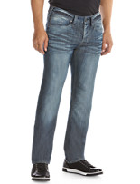 Buffalo David Bitton® Distressed Wash Relaxed-Fit Jeans