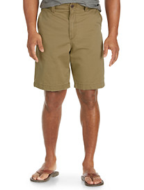 Society of One® Flat-Front Rumpled Shorts