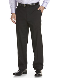 Michael Kors® Tonal Thin Stripe Flat-Front Suit Pants