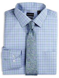 Rochester Non-Iron Multi Check Dress Shirt