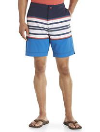 Tommy Hilfiger® Fontana Stripe Swim Trunks