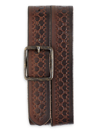 Lucky Brand® Embossed Leather Belt