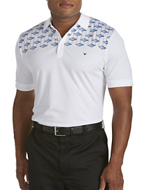 Callaway® Diamond Shoulder Polo