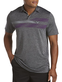 Callaway® Heather Chest Graphic Polo