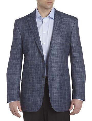 Jack Victor® Plaid Sport Coat (blue)