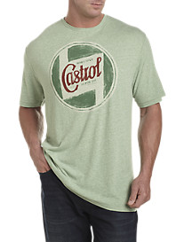 Lucky Brand® Castrol Graphic Tee