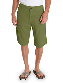 Lucky Brand® Garment-Washed Flat-Front Shorts