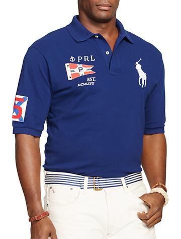 Polo Ralph Lauren® Yacht Club Big Pony Mesh Polo | Polos
