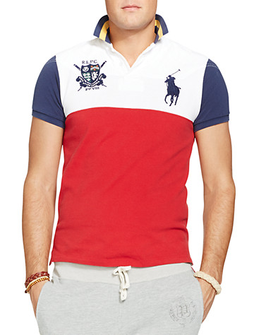 Polo Ralph Lauren? Colorblock Big Pony Mesh Polo | Polos