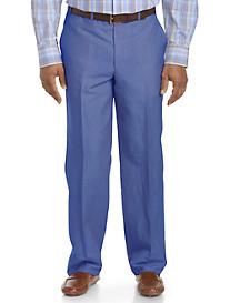 Jack Victor® Classic Linen-Blend Flat-Front Pants