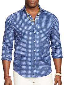 Polo Ralph Lauren® Medallion Print Sport Shirt