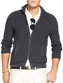 Polo Ralph Lauren® Full-Zip Cotton Sweater