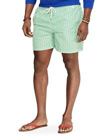 Polo Ralph Lauren® Traveler Gingham Swim Shorts