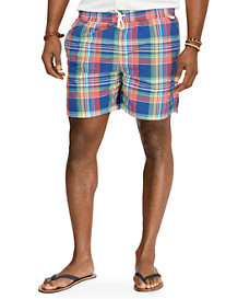 Polo Ralph Lauren® Traveler Madras Plaid Swim Shorts