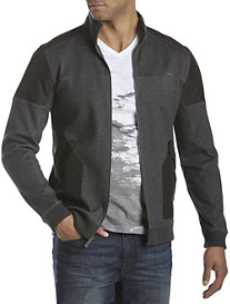 Calvin Klein® Sport Full-Zip Jacket with Nylon Trim