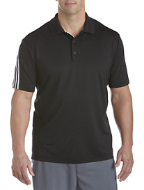 adidas® Golf climacool® 3-Stripe Solid Polo