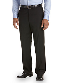 Ballin® Comfort-EZE Stripe Flat-Front Dress Pants