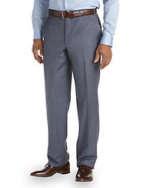 Jack Victor® Plaid Flat-Front Dress Pants