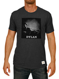 Retro Brand Dylan Guitar Graphic Tee