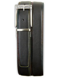 Robert Graham® Vinsanto Leather Belt